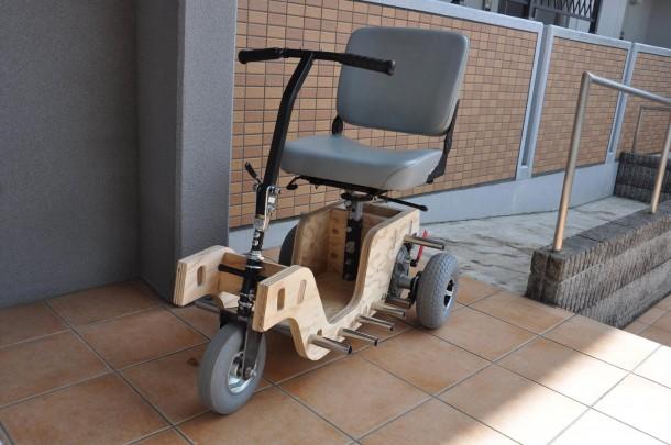 後日完成したFability Scooter