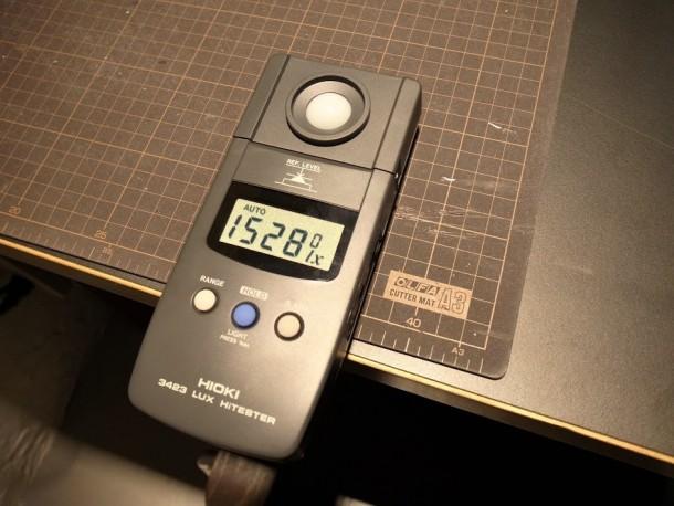 図5.LED交換後の照度