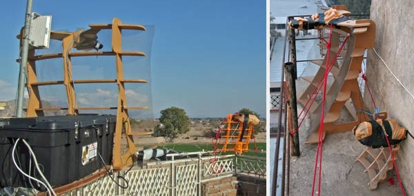 MITとの共創によって発明され、アフガニスタンのFabLab で製作されている木製長距離WiFiルーター「FabFi」(引用:http://fabfi.org/)